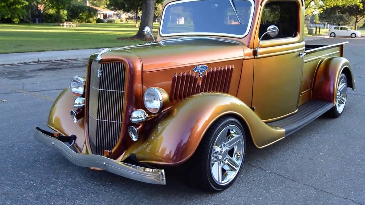 Cars For Sale Boise >> 1935 Ford 1/2 Ton Custom Pickup - Ross's Valley Auto Sales - Boise, Idaho - YouTube