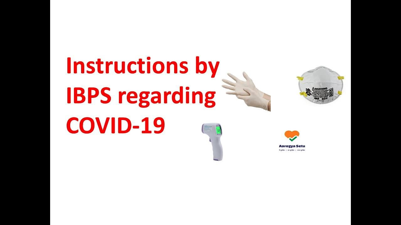 IBPS Instructions for COVID-19 I IBPS RRB Social Distancing Guidelines
