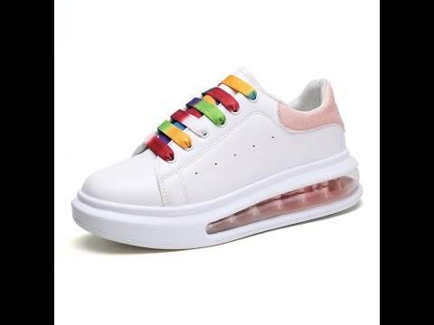 New Arrivals Fashion Design Girls Platform Sneakers