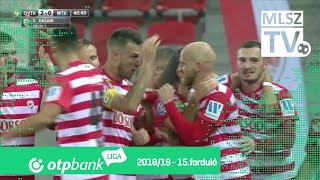 Hasani Florent gólja a DVTK - MTK Budapest mérkőzésen