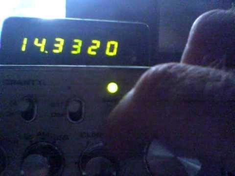 20 meter band ham conversion to cb radio