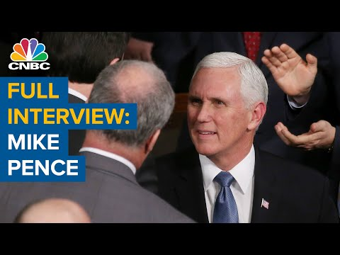 Watch CNBC's full interview with Vice President Mike Pence