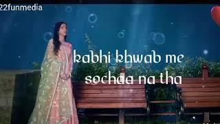 Bheed Mein Tanhai Mein || Sad Song || Whatsapp Status ||
