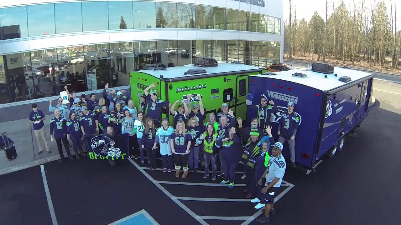 Roy Robinson Subaru >> Pumped up for Super Bowl XLIX 2015 - YouTube