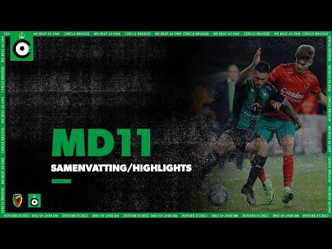 Oostende Cercle Brugge Goals And Highlights