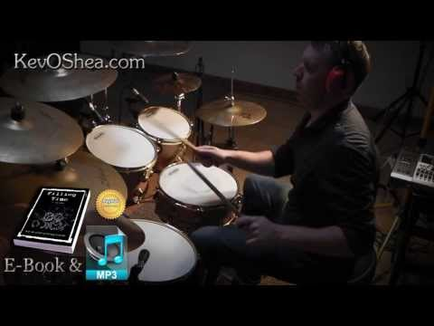 ★ Advanced Drum Lesson ★ Halftime Linear Pattern | Book Sample
