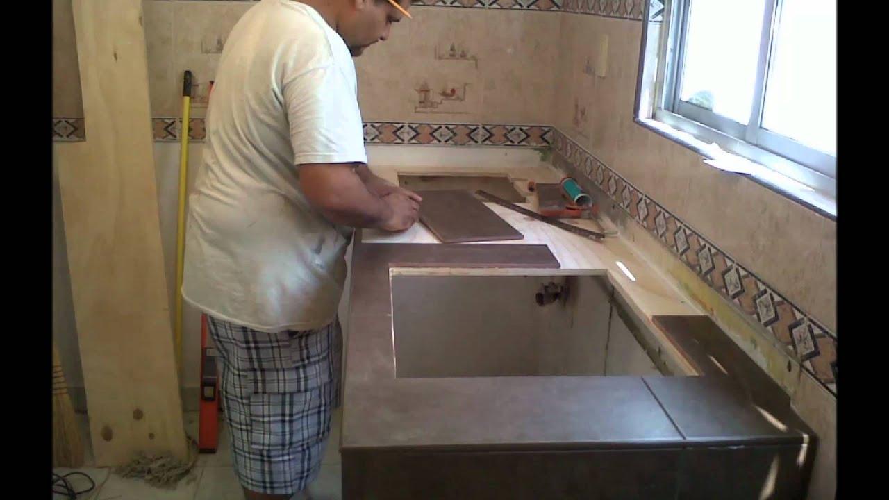 Luis remodelacion de cocinamp4  YouTube