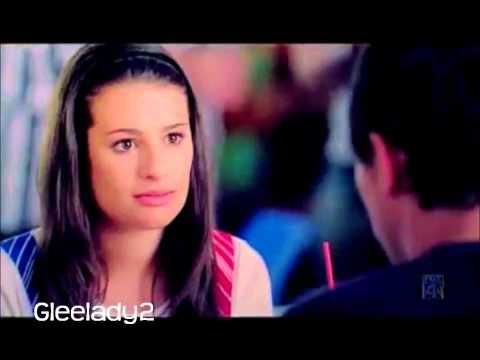 Finchel Finn/Rachel  Never say never * Glee cast*