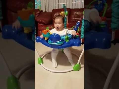 083cbc01b Baby Einstein Neptune s Ocean Discovery Jumperoo - YouTube