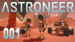 🚀 ASTRONEER [001] [Entdeckung fremder Planeten] [Deutsch German] thumbnail