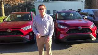 2019 RAV4 LE vs RAV4 XLE: How to Choose One