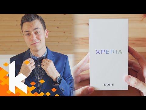 Auspacken im Anzug: Sony Xperia XZ Premium!