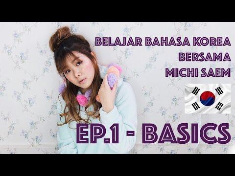 How to Speak korean with MICHI SSAEM || EP1. Basics