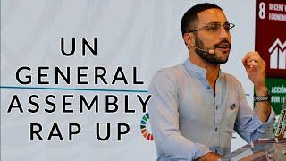 2019 UN General Assembly Rap Up