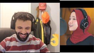 Sabyan- TABASSAM|COVER| 1 Tahun Bersama Lagana reaction