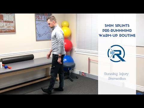 Shin Splints Pre-Running Warm-Up | Salt Lake City Running Sports Chiropractor