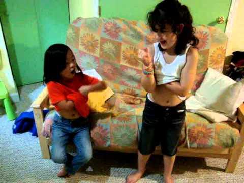 little girls farting