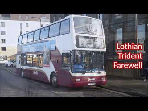 Lothian Buses Trident Farewell