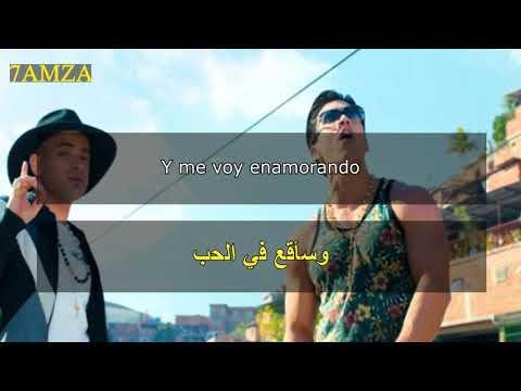 Chino & Nacho - Me Voy Enamorando (Remix) ft. Farruko مترجمة عربي