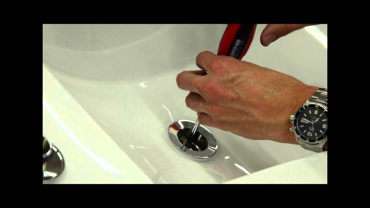 Sustituci n de una v lvula de desag e convencional por for Piezas de la regadera