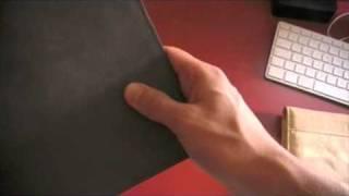 Etui en cuir iPad de Jareez