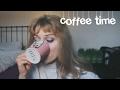 Coffee, bread sticks and rambling