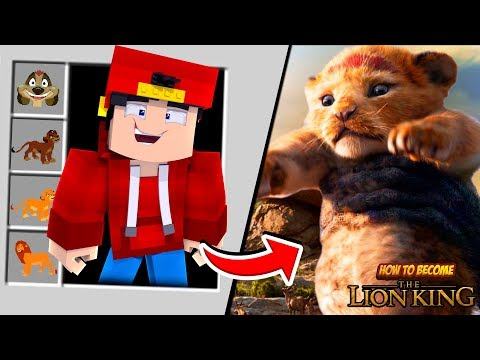 minecraft-adventure---how-to-become-the-lion-king?!!!