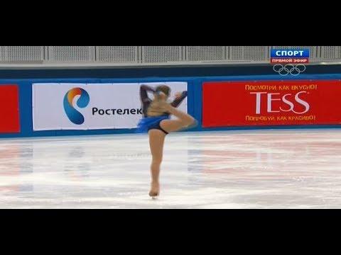 Фигурное Катание Чемпионат России Женщины Короткая Программа 25.12.2013
