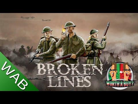 Broken Lines Review - WWII RPG