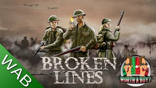 Broken Lines Review - WWII RPG (Video Game Video Review)