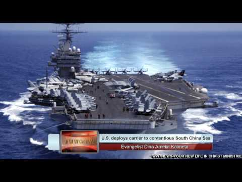 U.S. deploys carrier to South China Sea after warning from China