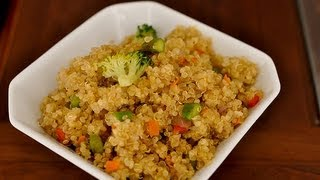 Recipe For Stir-fried Quinoa With Veggies