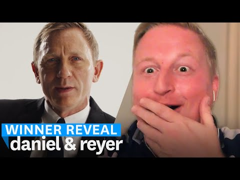 Reyer is meeting Daniel Craig at the London premiere of Spectre! | Omaze Winner