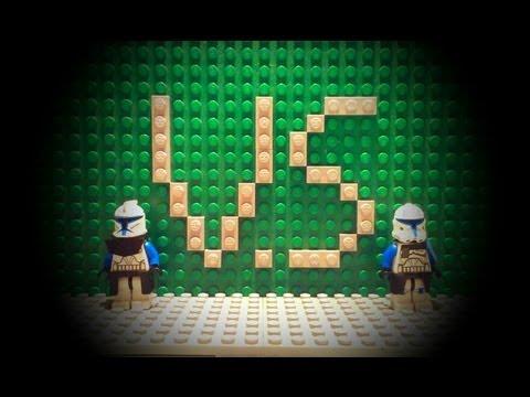 Lego star wars Phase 1 captain Rex VS phase 2 captain Rex - YouTube