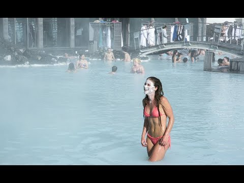 HEAVEN ON EARTH! ICELAND'S BLUE LAGOON SPA!