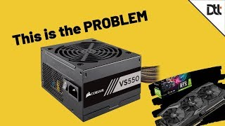 This Power Supply Ruin the RTX 2060 Super