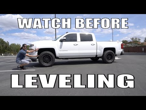 THE BEST TRUCK LEVELING KIT