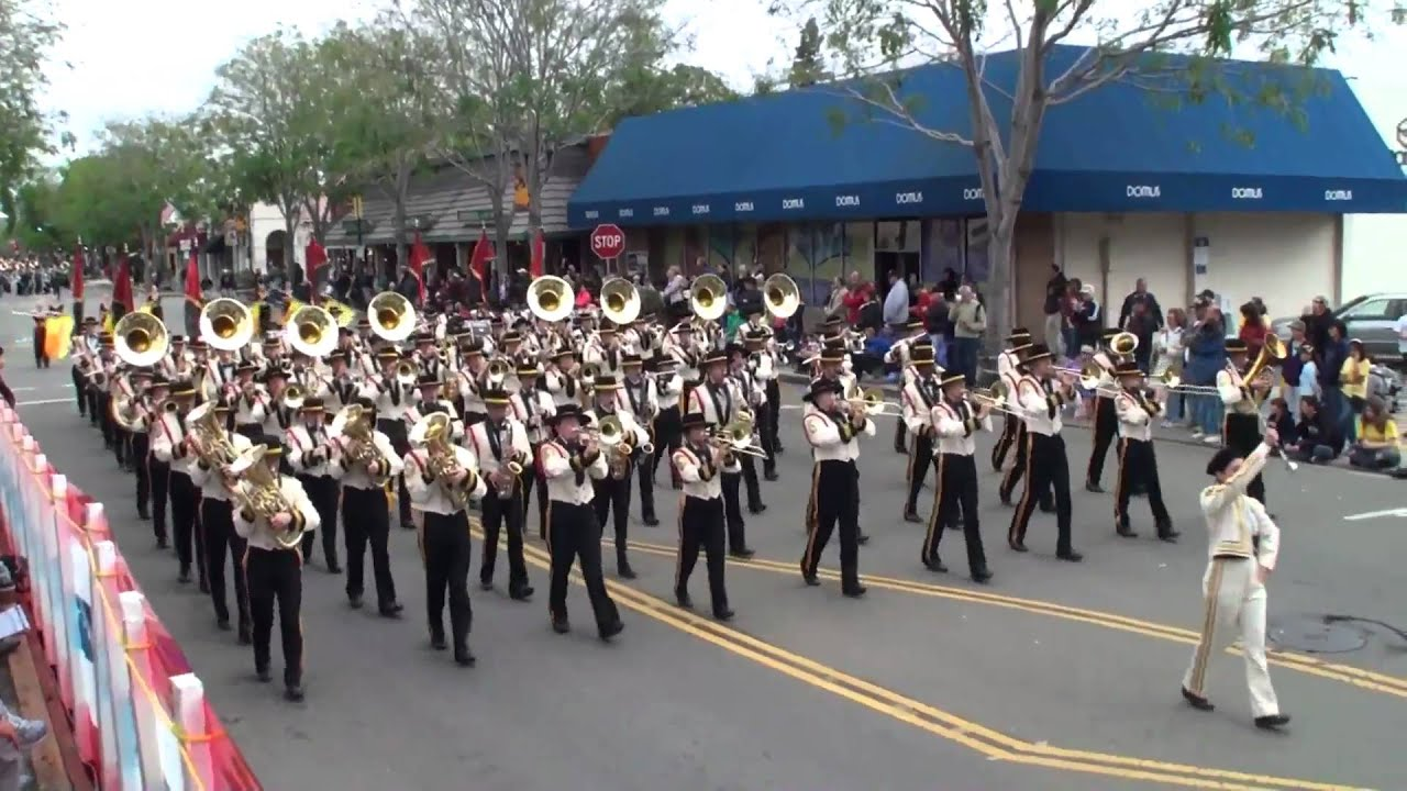 Granada HS - Eagle, Globe & Anchor - 2010 Foothill Band Review - YouTube