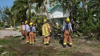Direct Relief - Hurricane Irma -- Clearing Debris - Florida Keys 9/12/2017