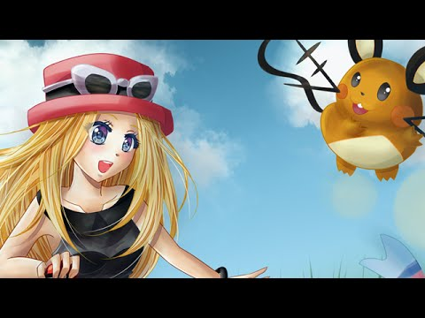 Pokemon X and Y Serena - Speed paint (Requested) - YouTube