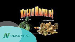 Je lepší jíst syrovou nebo vařenou brokolici?