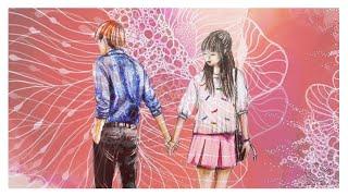 ♡  How To Draw A Couple Holding Hands ♡ | Ioana Cotuna