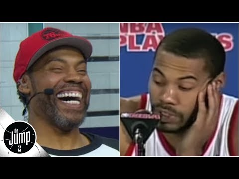 Rasheed Wallace explains legendary 'both teams played hard' press conference | The Jump: OT