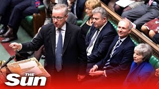 Was this Gove's greatest ever speech?