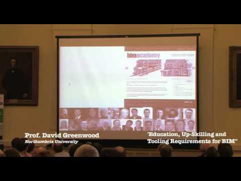 CITAEIN June 6th BIM Workshop Prof. David Greenwood