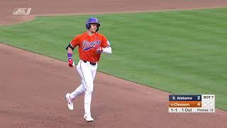 Clemson Baseball || South Alabama Game Highlights - 2/15/19 Video