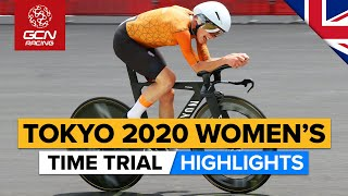 Tokyo 2020 Women's Time Trial Highlights