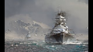 The Tirpitz Losing to Victory - World of Warships