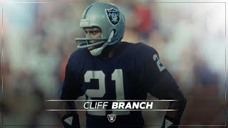 NFL players on Cliff Branch's greatness   Raiders
