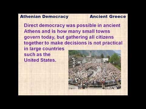 Athenian Democracy - reading lesson for kids